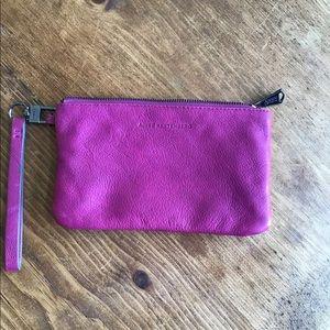 Aimee Kestenberg leather wristlet